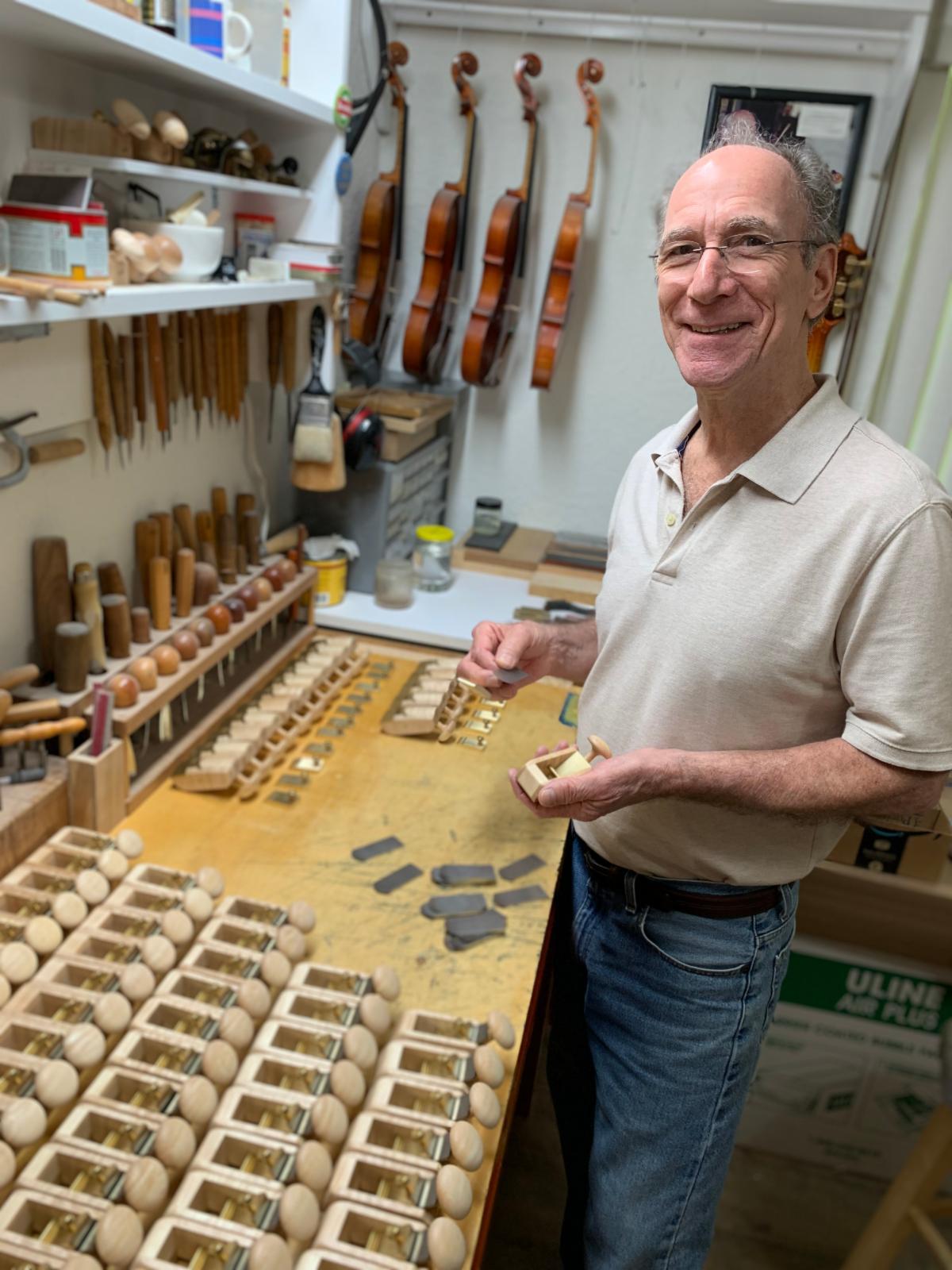 Retail 6-2019 Bob Benedetto Assembling Palm Planes