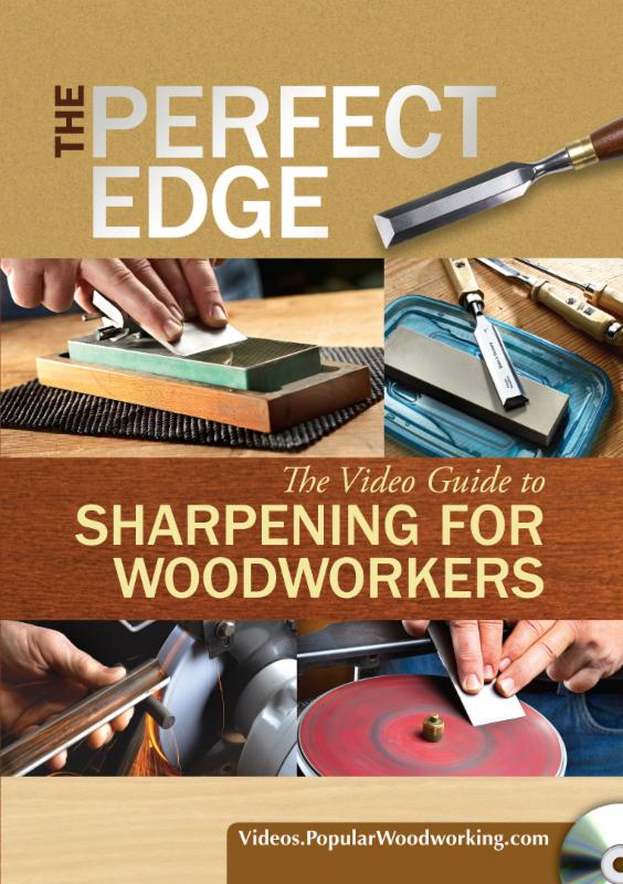 Cover, The Perfect Edge - The Video Guide to Sharpening for Woodworkers