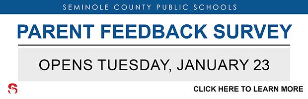 Parent Feedback Survey Opens January 23_ 2018