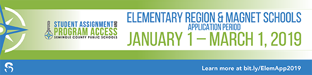 Elementary Region _ Magnet Schools Application Period Open through March 1