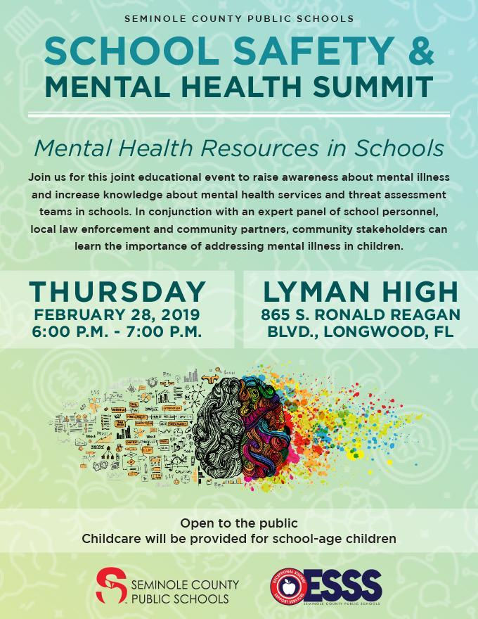 School Safety _ Mental Health Summit