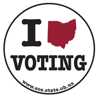 Ohio Voting Sticker
