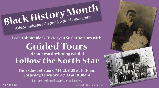 Black History Month Guided Tours at the museum