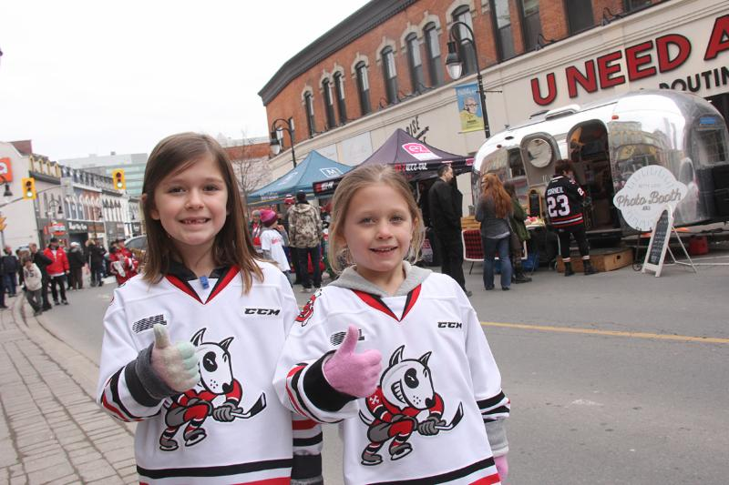 Dog Run street parties before Niagara IceDogs home playoff games
