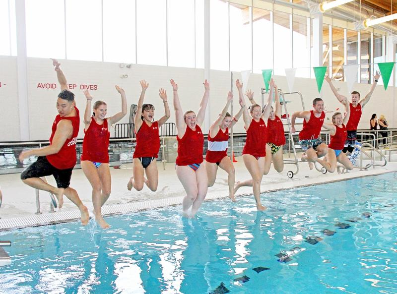 Jump in the pool at the St. Catharines Kiwanis Aquatics Centre