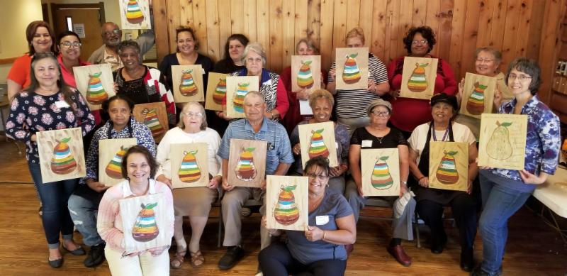 Family Caregiver Retreat Group Picture