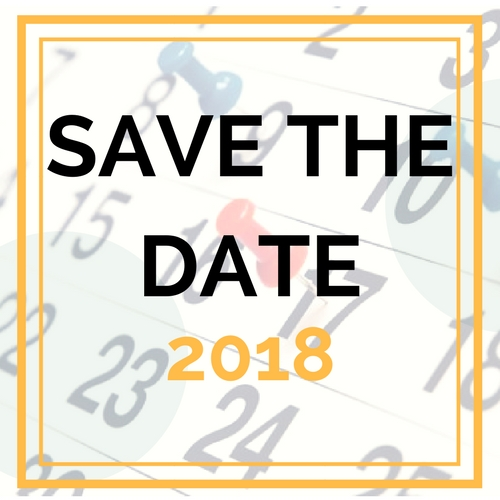 save the date 2018