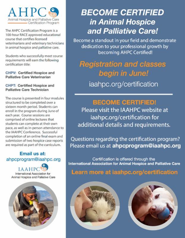 Ahpc Certification Program