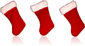 three stockings