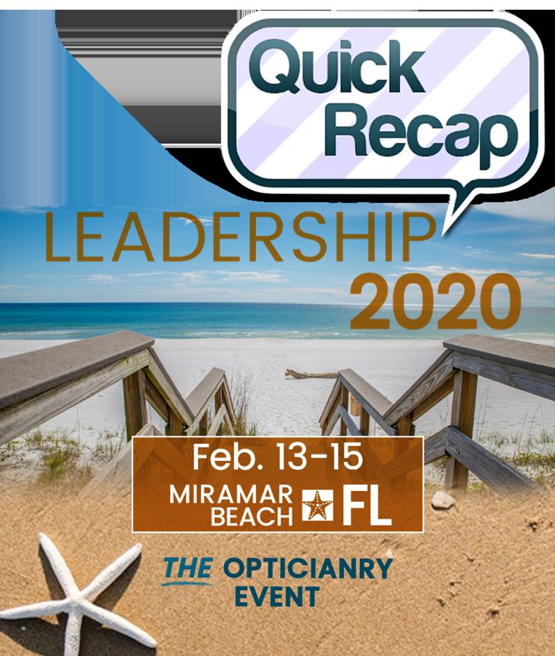 OAA Leadership 2020 - Quick Recap