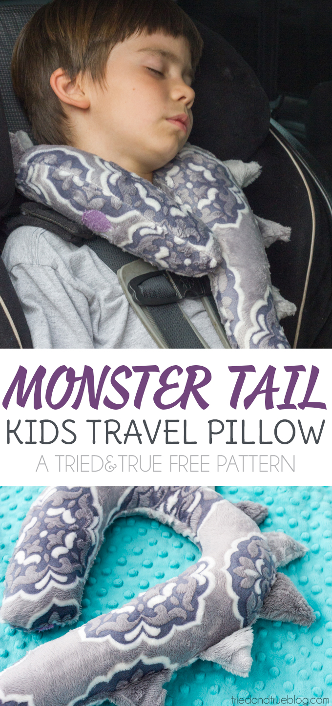 Monster Tail Cuddle Pillow