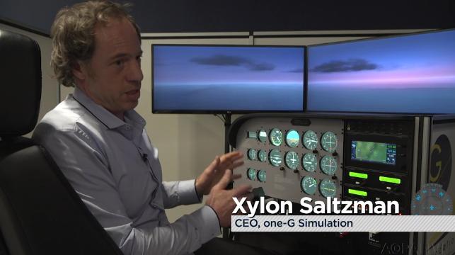One G Simulation CEO Xylon Saltzman