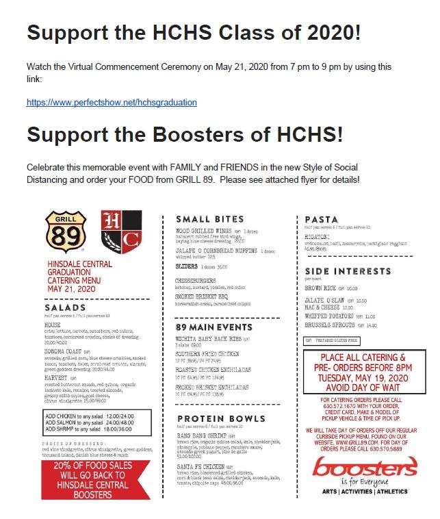 Boosters Fundraiser