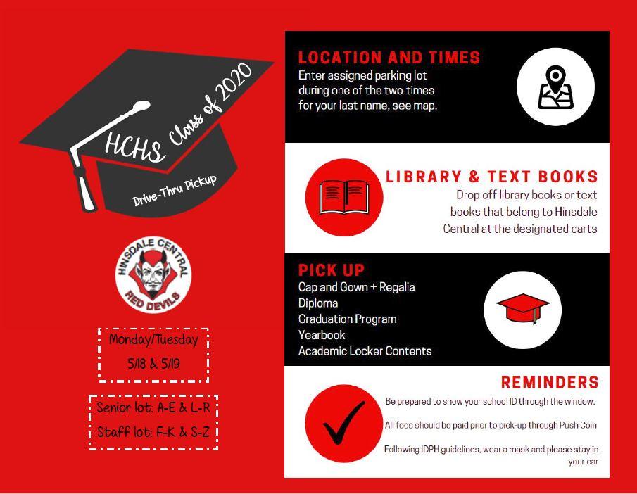 Graduation Pick Up Information
