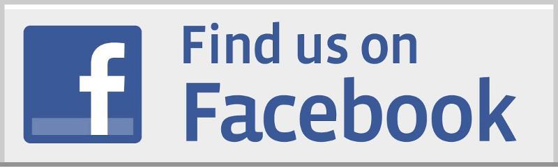 find us on facebook button
