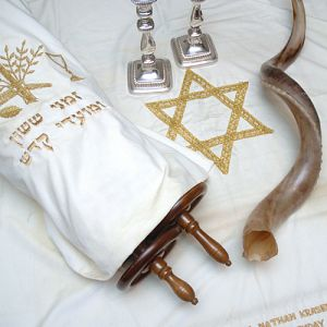 Torah and shofar