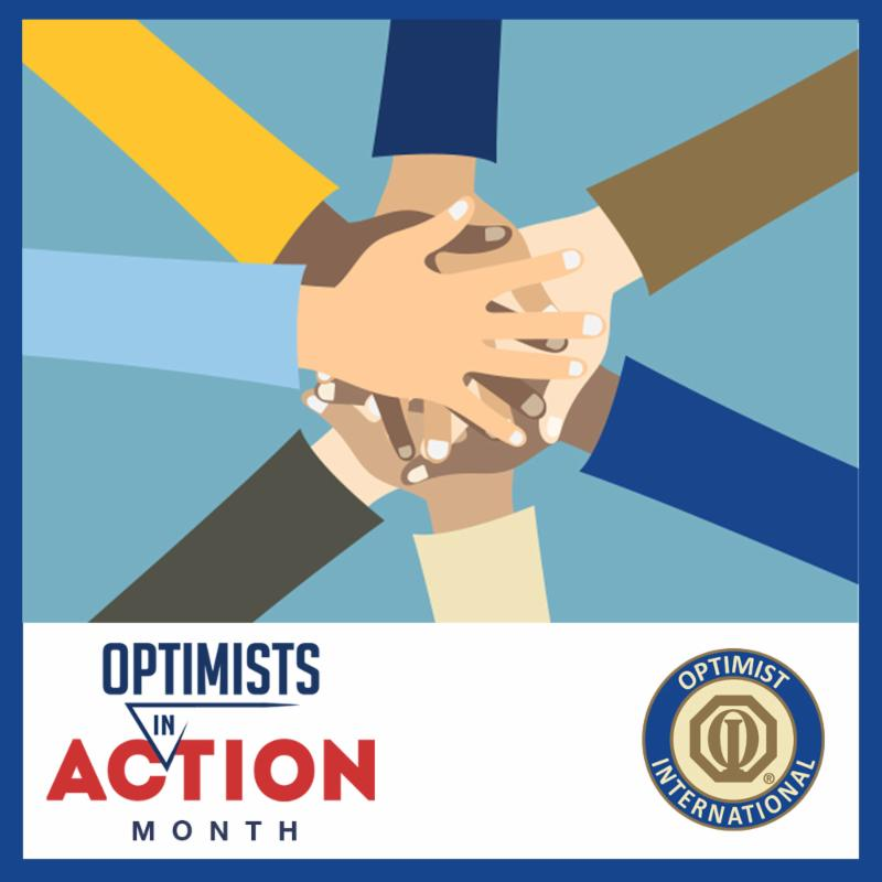 Optimists in Action Logo