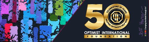 Optimist International Foundation newsletter header image