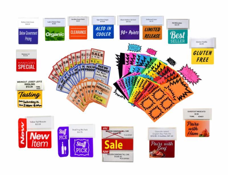 Retail Store Signage Kit!