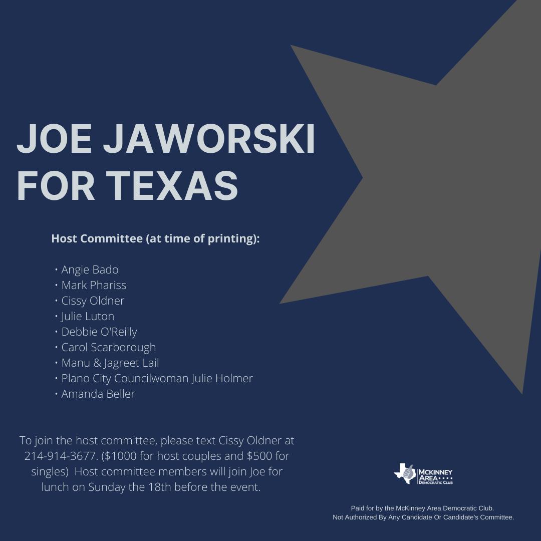 Joe Jaworski Event Organizing Committee
