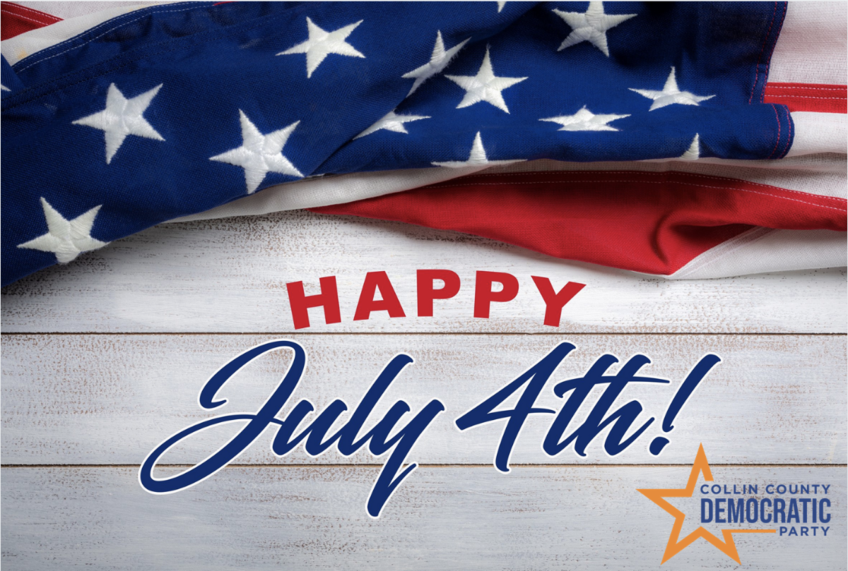 Happy July 4th from Collin County Democratic Party