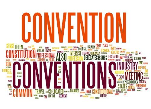 Convention word cloud