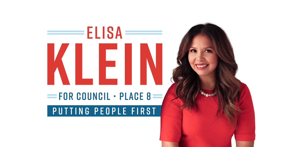 Elisa Klein for Plano City Council Place 8, Putting People First