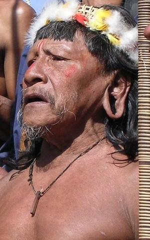 Hombre huaoranidel Amazonas