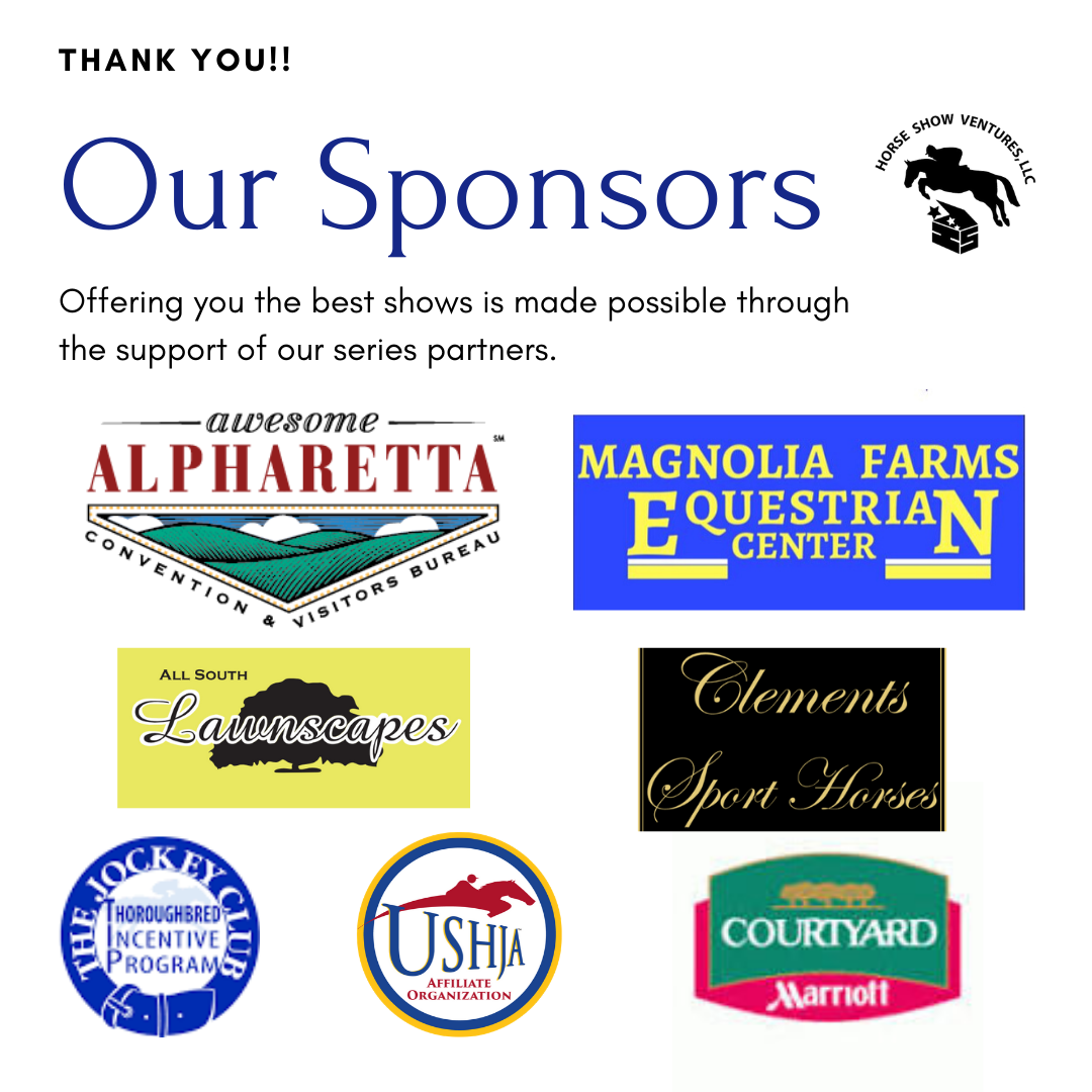 Horse Show Ventures Sponsors