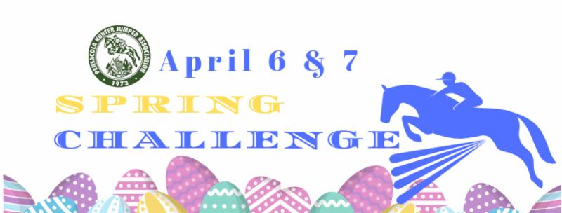 Pensacola Hunter Jumper Association Spring Challenge Horse Show