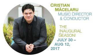 CHRISTIAN MACELARU, MUSIC DIRECTOR & CONDUCTOR