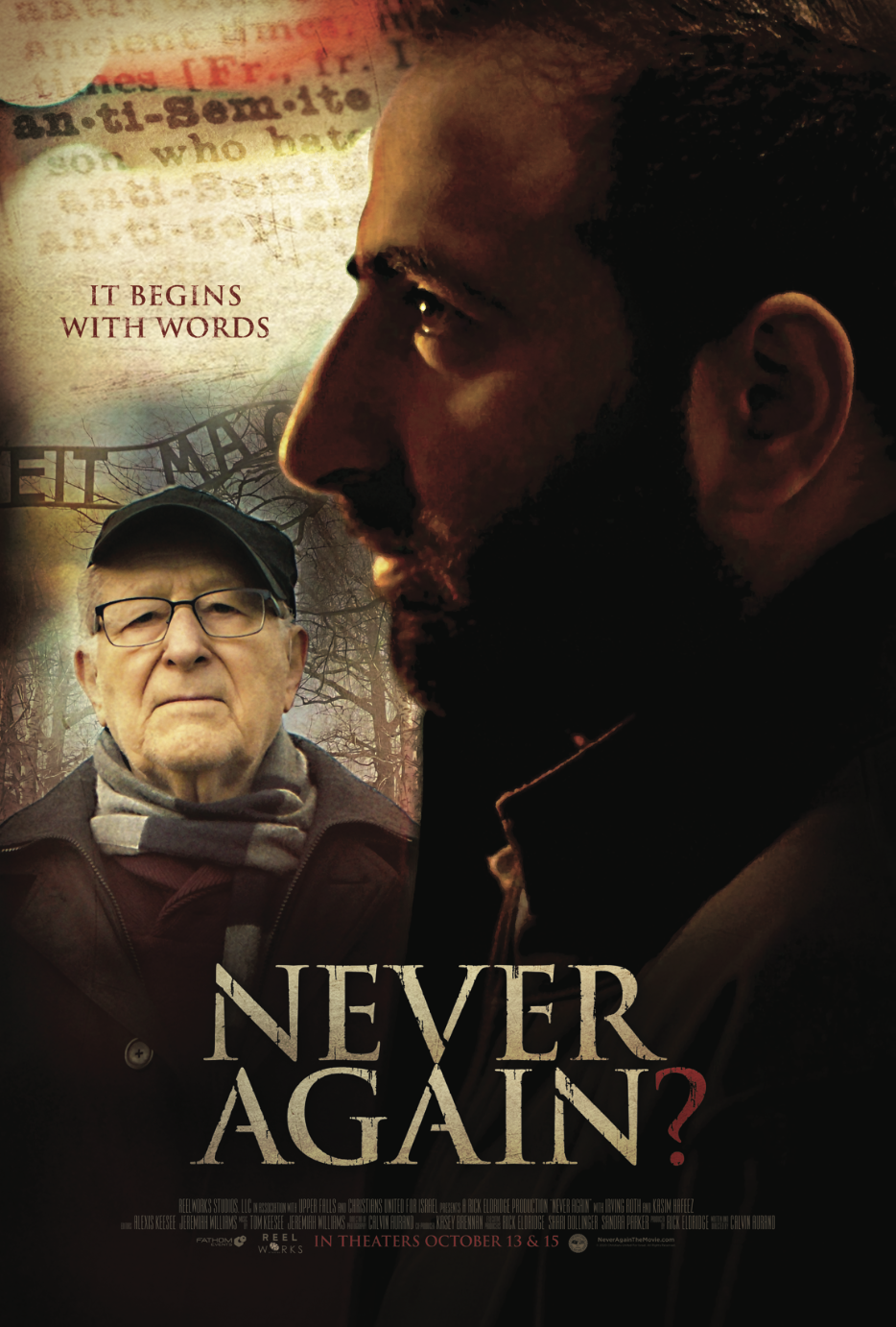 Never Again one sheet
