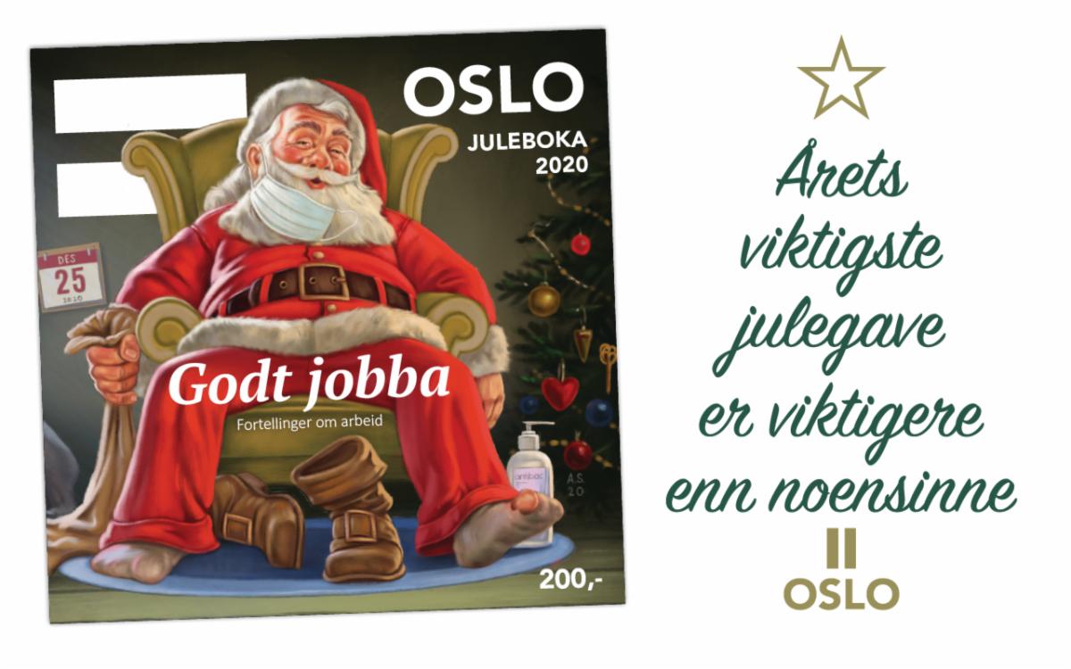 Årets viktigste julegave er viktigere enn noensinne =Oslos julebok 2020