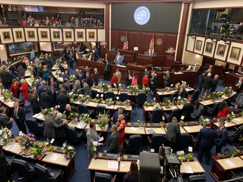 First day of the 2019 Legislative Session.