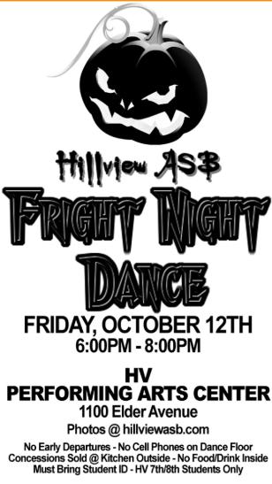 Fright Night Dance