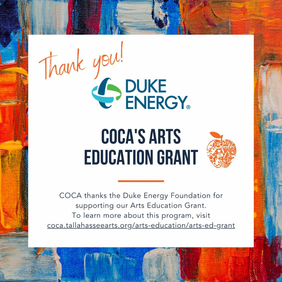 COCA Education Grant