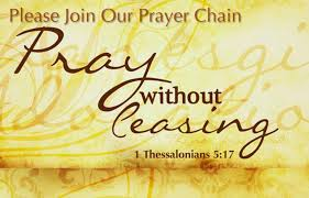 PRAYER CONCERNS AND JOYS