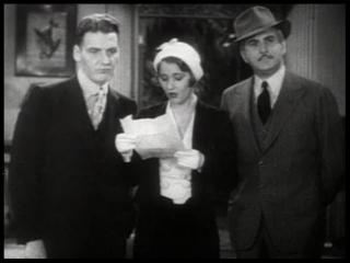 Frank Fay, Stanwyck, Eddie Kane   The Stolen Jools 1931