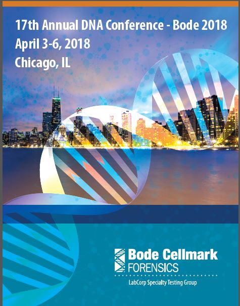 Check Out Our Speakers at the Bode 2018 Forensic DNA Conference