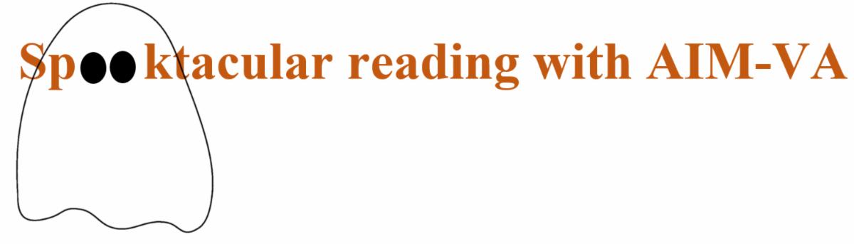 Spooktacular reading with AIM-VA