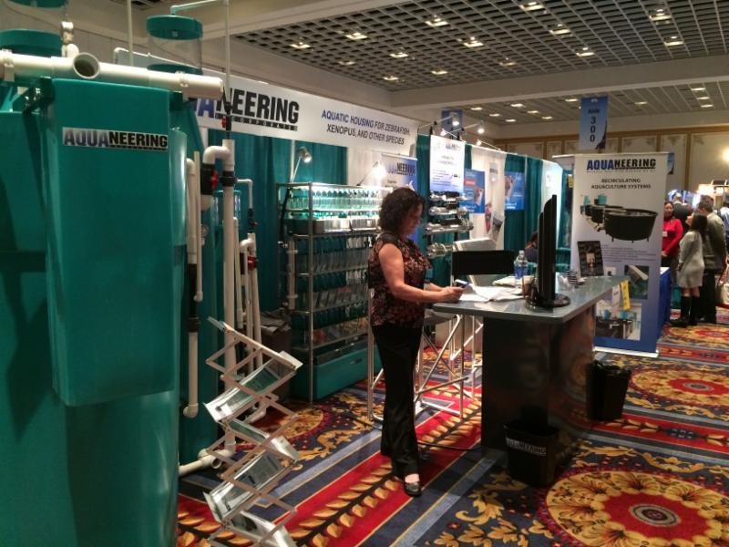 Aquaneering booth at Aquaculture America 2016