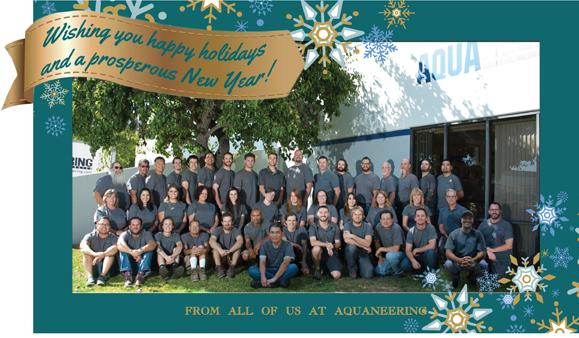 Wishing you happy holidays and a prosperous New Year from all of us at Aquaneering_