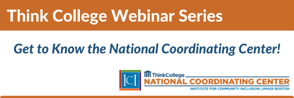 Think College National Coordinating Center logo