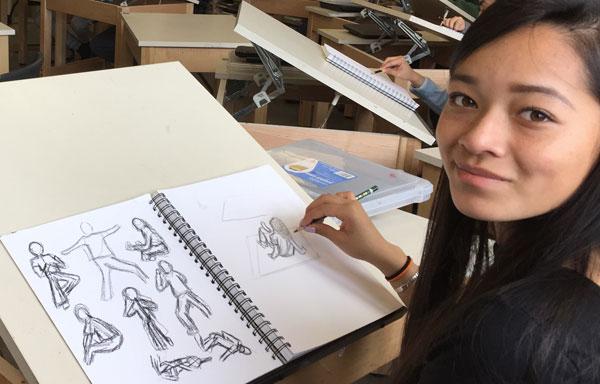 Jennifer Lopez Gesture Drawing