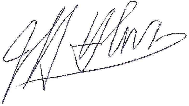 Jeff Holmes' Signature