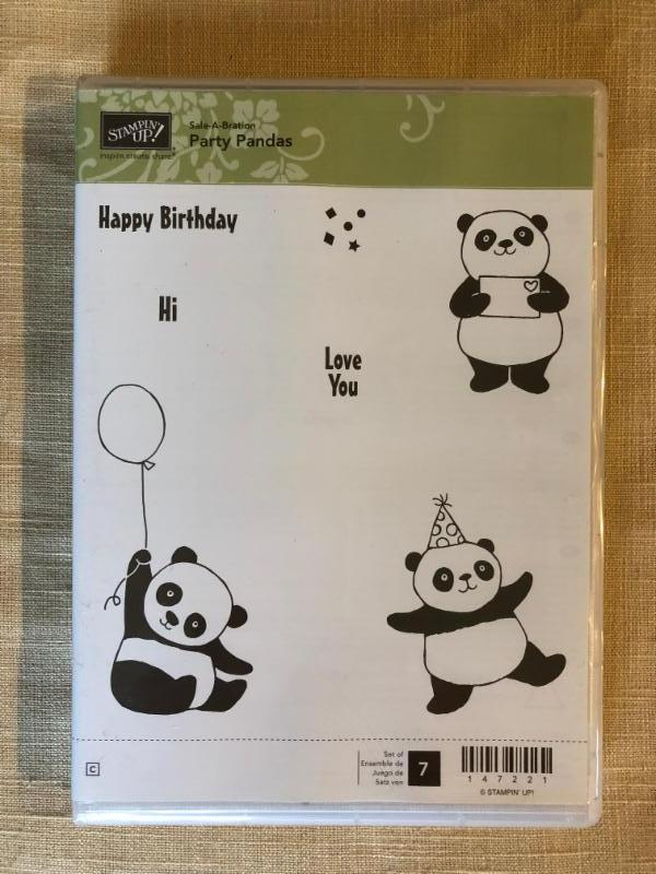 Stampin' UP! Sale a-bration Stamp Sets and Host reward stamp sets
