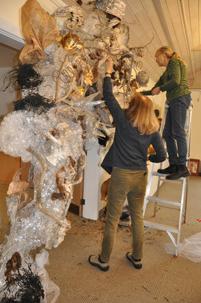 S Lerner, M Brecher Art Show Prep 2013