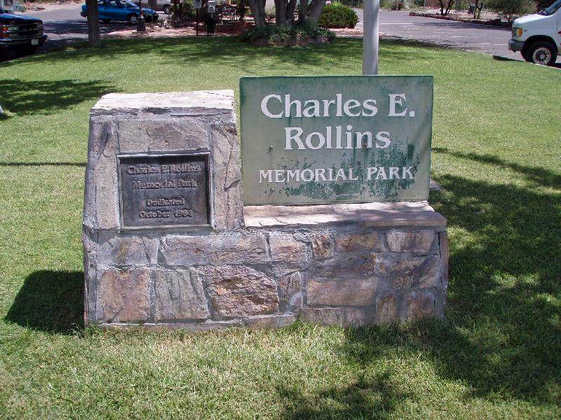 Rollins Park Sign