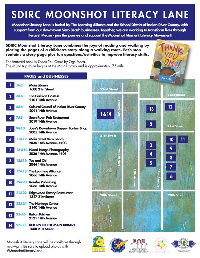 Literacy Lane Map 2020