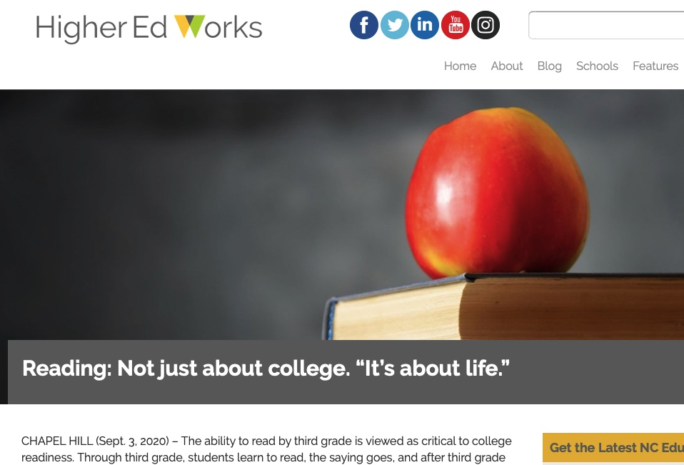 HigherEd article